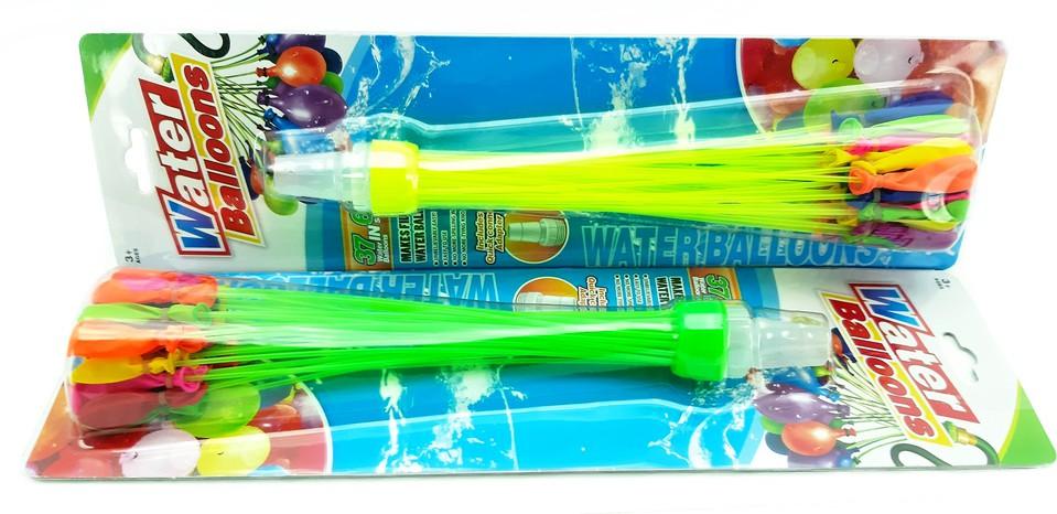 Vodné bomby Happy Balloons 37ks - náhodná