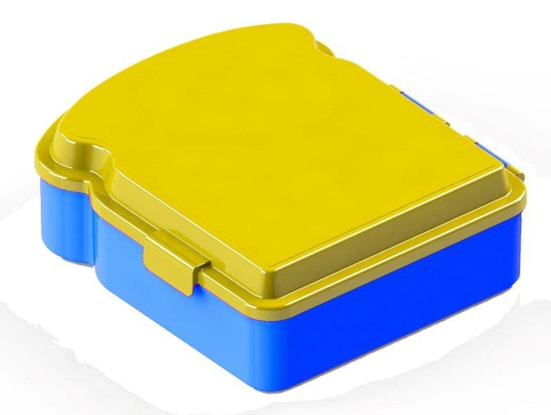 Box desiatový bez potlače 16x14cm