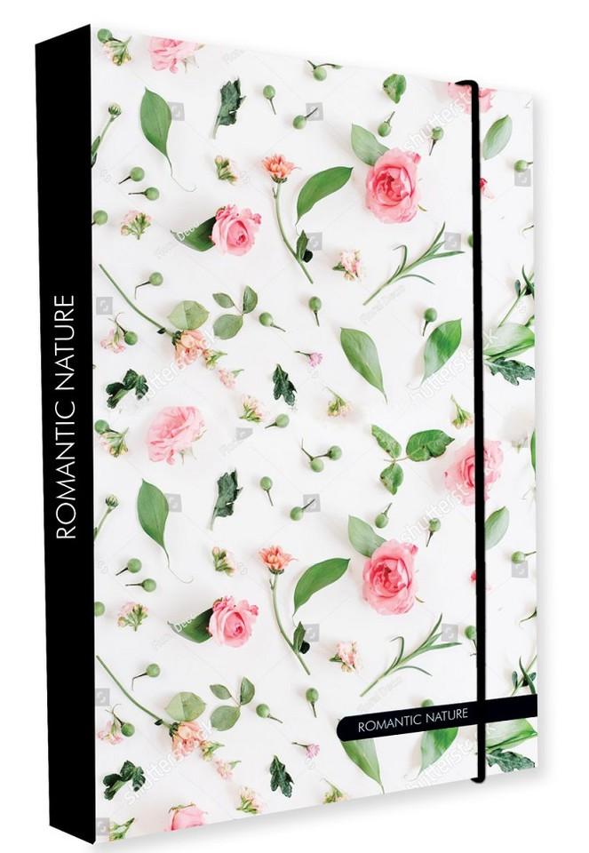 Box na zošity A4 Jumbo Romantic nature rose