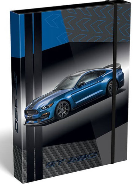 Box na zosšity Ford Mustang A4