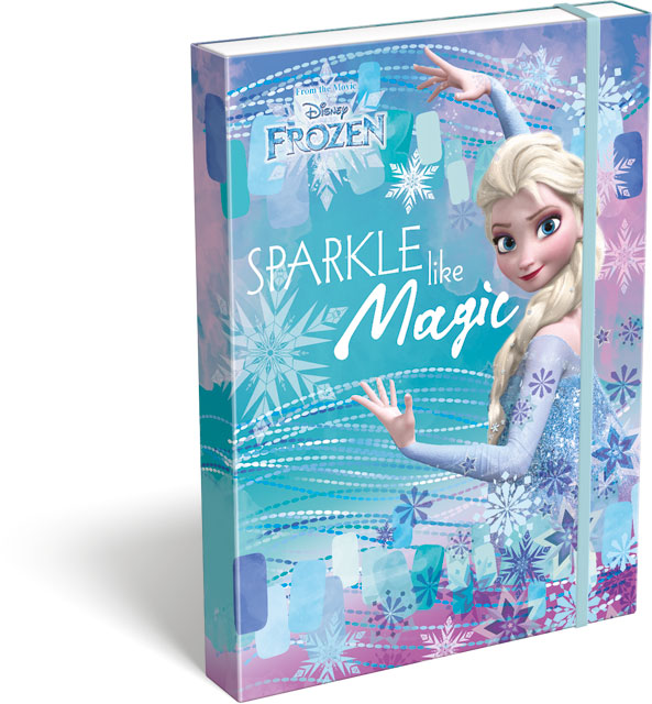 Box na zošity A4 Frozen Magic