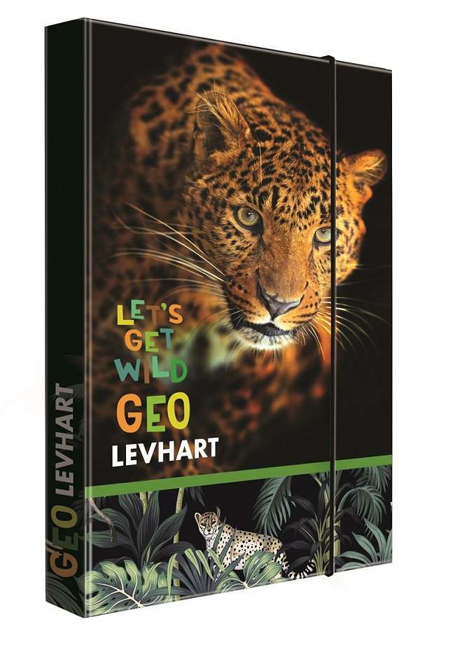 Box na zošity A4 Geo Wild