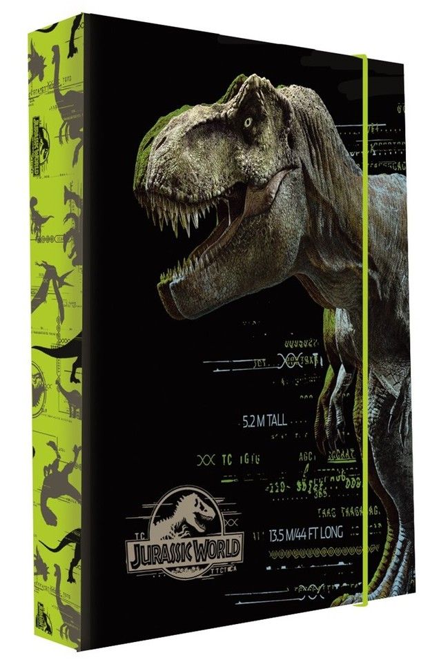 Box na zošity A4 Jumbo Jurassic World