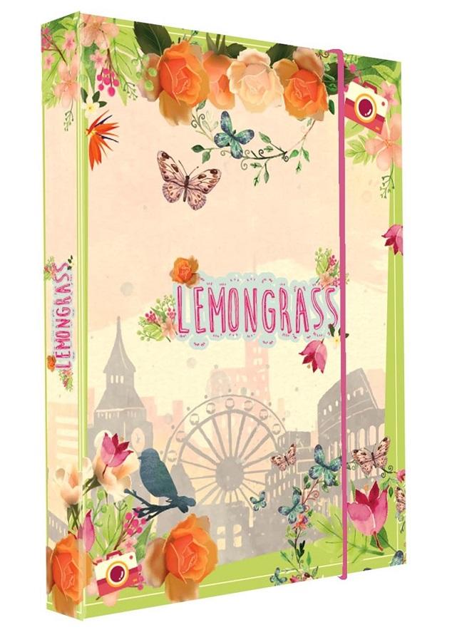 Box na zošity A4 Jumbo Lemongrass