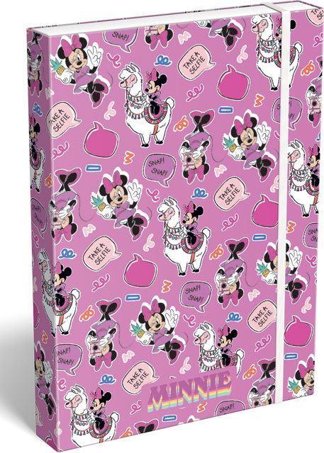 Box na zošity A4 Minnie Mouse Lama