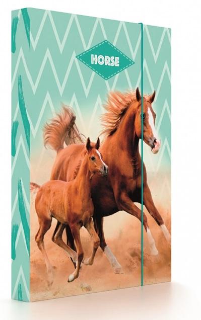 Box na zošity A4 Jumbo Oxy Style Mini Horse
