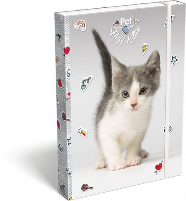 Box na zošity A4 Pet Mačiatko