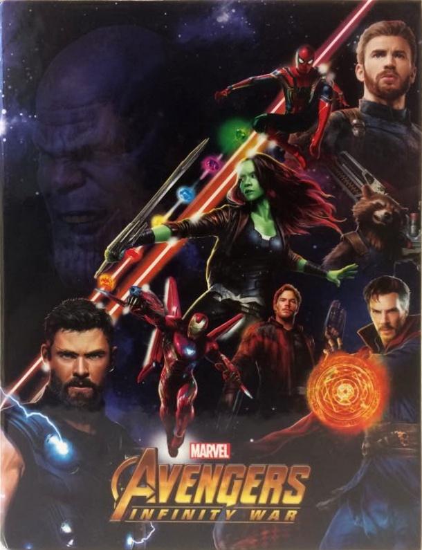 Box na zošity A5 Avengers