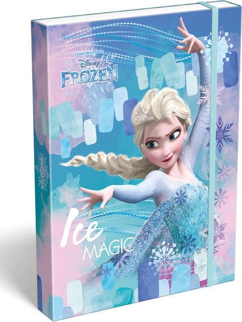 Box na zošity A5 Frozen Ice magic
