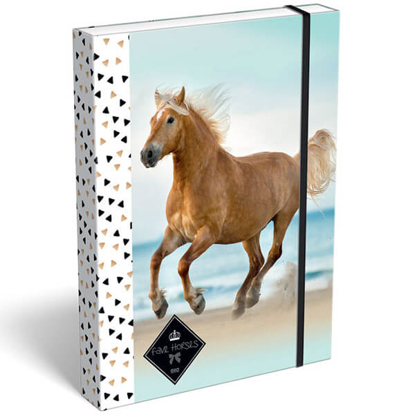Box na zošity A5 GEO HORSE