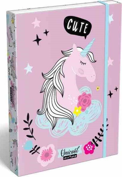 Box na zošity A5 LOllipop Unicorn