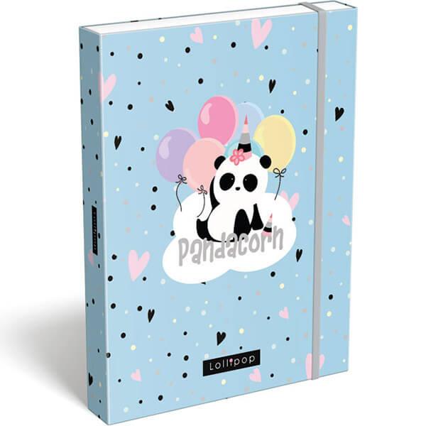 Box na zošity A5 Lollipop Pandacorn
