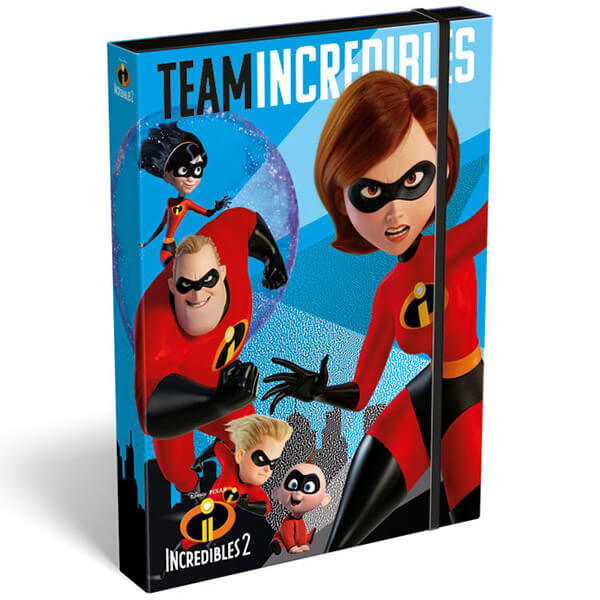 Box na zošity A5 The Incredibles