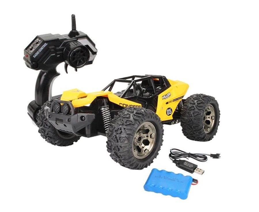 Bugina RC Sneak off-road 34cm žltá