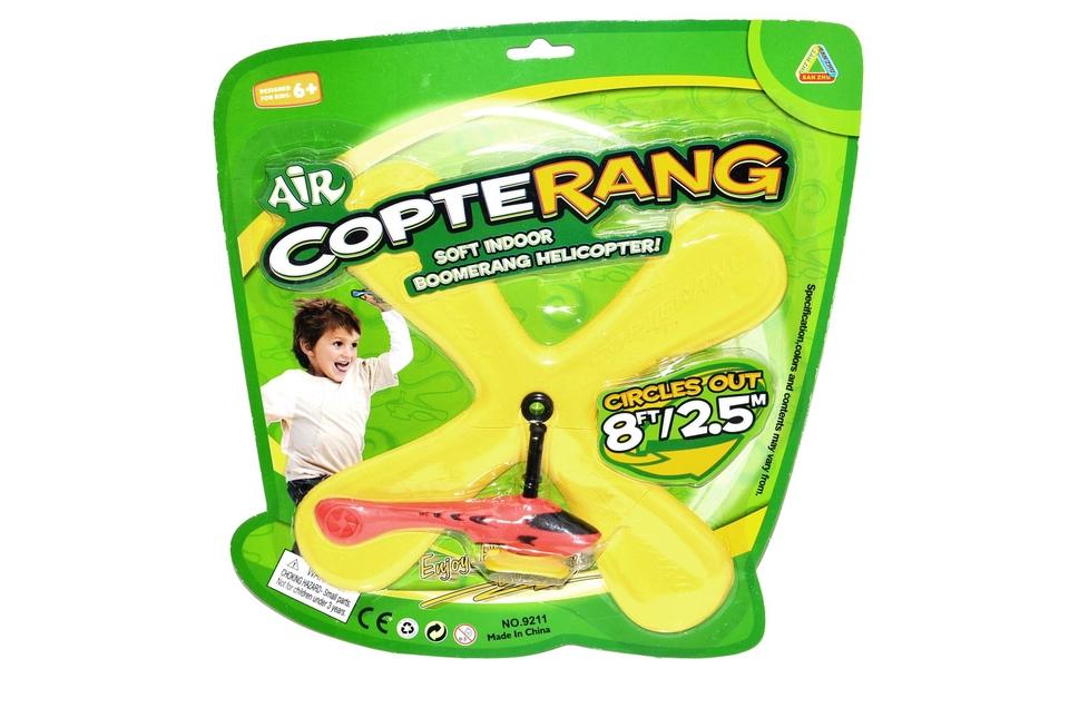 Bumerang s helikoptérou