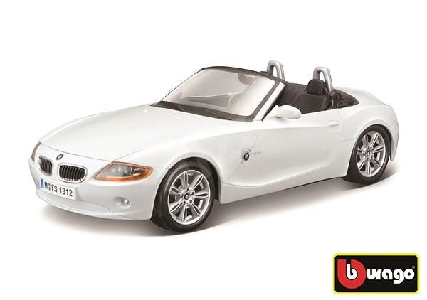 Bburago auto BMW Z4 1:24 biele