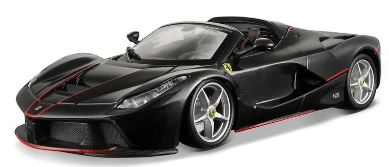 Bburago 1:24 Ferrari Laferrari Aperta čierna