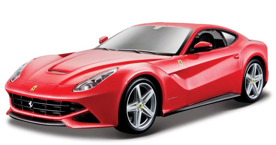 Bburago Ferrari Race & Play F12 Berlinetta 1:24červené