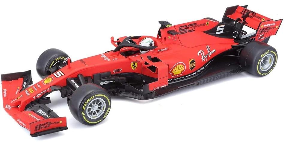 Bburago auto 1:18 Ferrari Racing F1 2019 SF90 Sebastian Vettel