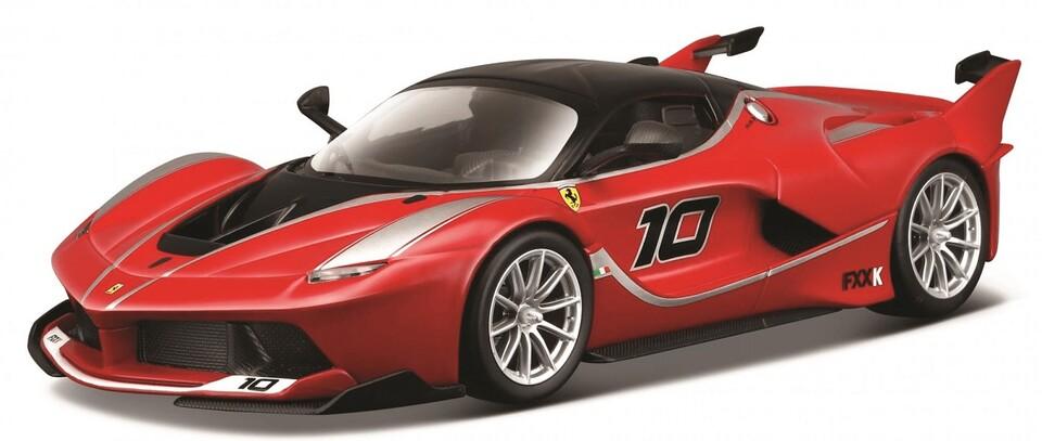 Bburago 1:24 Ferrari Racing FXX K červená