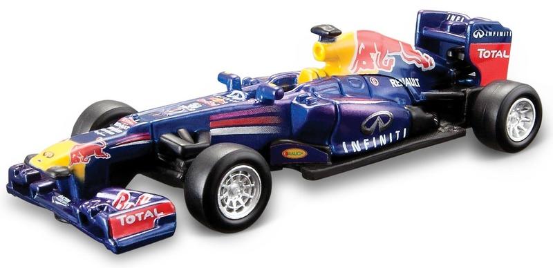 Bburago auto1:64Formula Red Bull