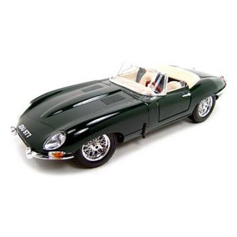 Bburago auto Jaguar E-type Cabriolet 1:18