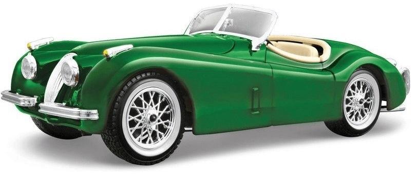 Bburago 1:24 Jaguar XK 120 Roadster (1951) zelená