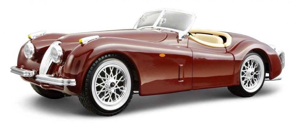Bburago Jaguar XK 120 Roadster 1951 1:24
