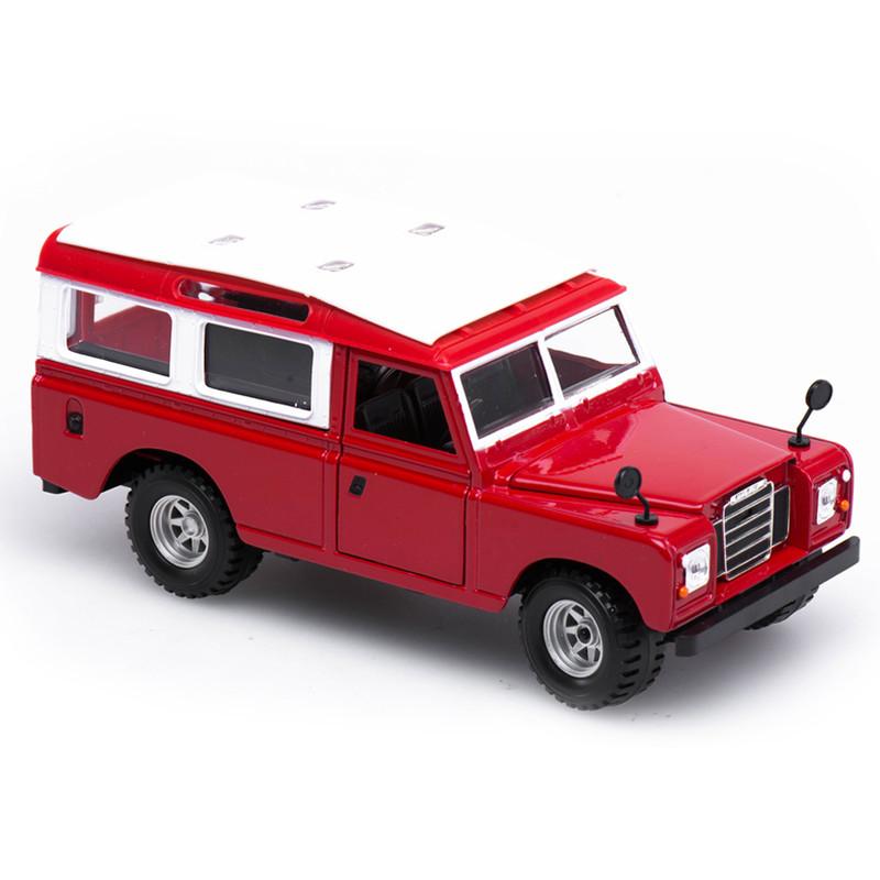 Bburago auto Land Rover 1:24