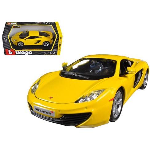 Bburago auto MCLaren MP4-12C Metalic Yellow