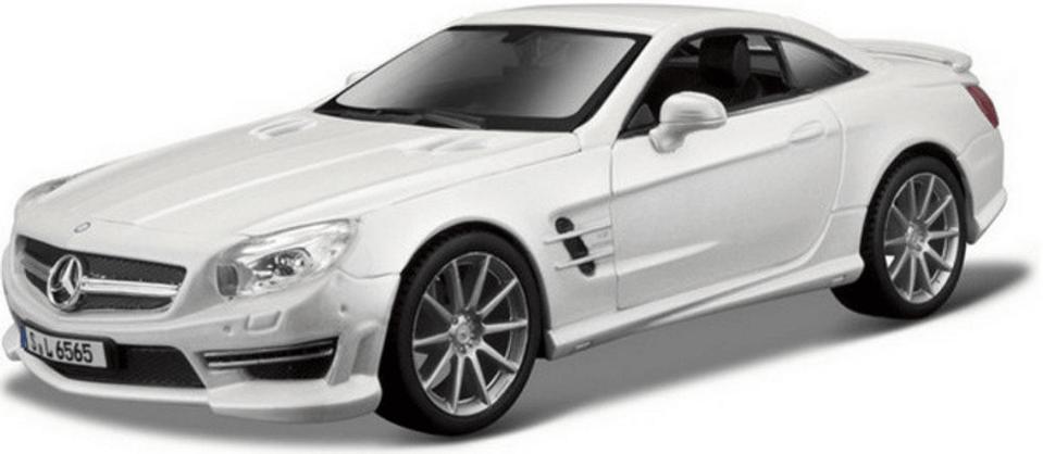 Bbrurago Mercedes Benz SL65 AMG Hardtop White PLUS 1:24