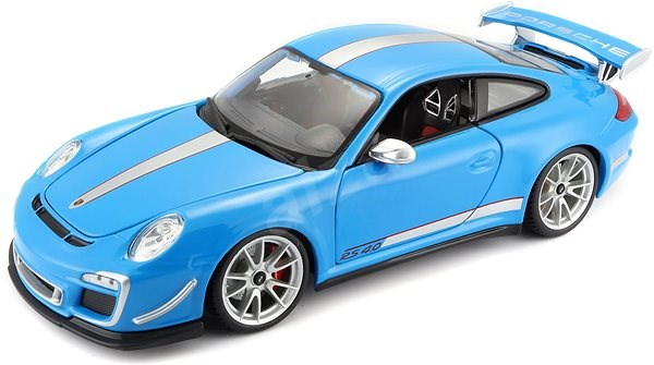Bburago auto1:18 Porsche 911GT3 RS 4.0 modré
