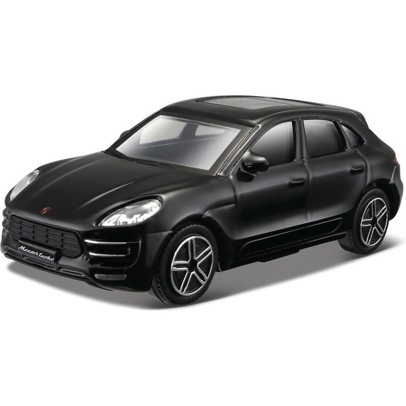 Bburago auto Porsche Macan 1:24 čierne