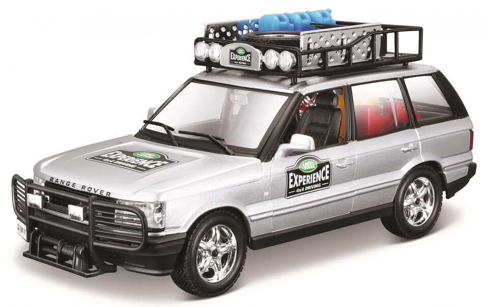 Bburago 1:24 Range Rover strieborná
