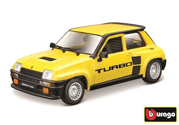 Bburago auto Renault 5 Turbo 1:24 žlté