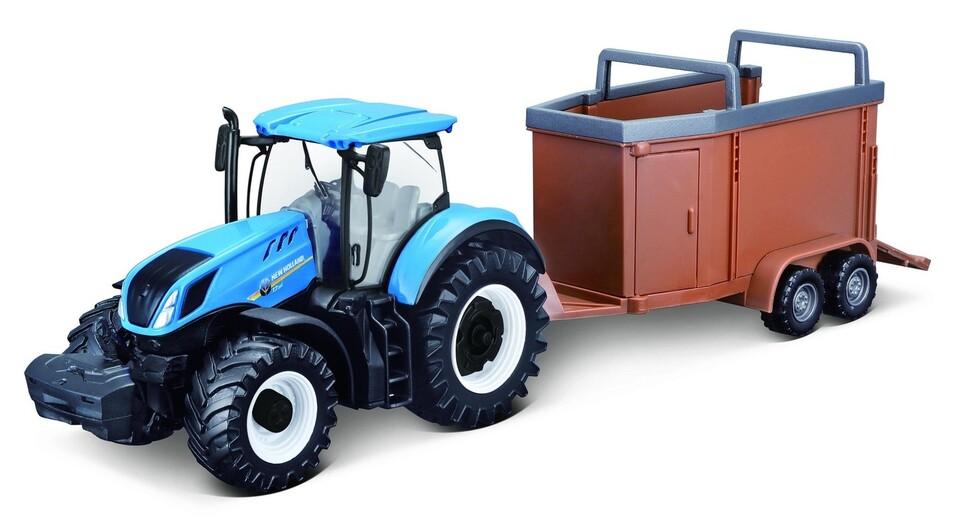 Bburago Traktor s vlečkou 3druhy