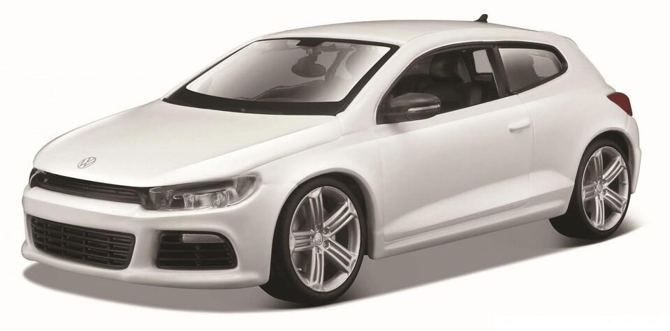Bburago 1:24 Volkswagen Scirocco R biela