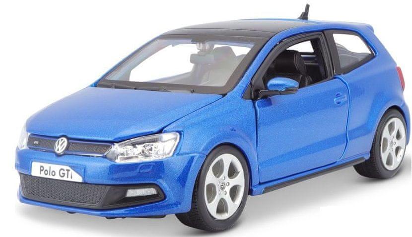 Bburago 1:24 Plus VW Polo GTI Mark 5 Blue
