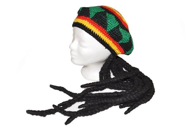 Čapica Jamajčan pletená