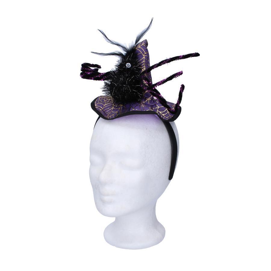 Čelenka klobúk s pavúkom