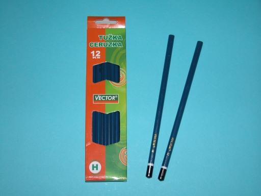 Ceruzka drevená Mix 12 ks