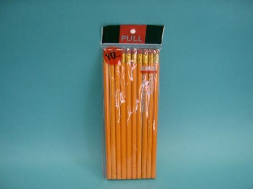 Ceruzka s gumou 10ks