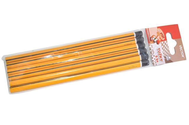 Ceruzky HB ergonomické 6 ks