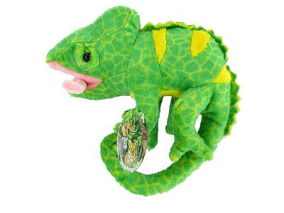 Plyšový chameleón 16cm