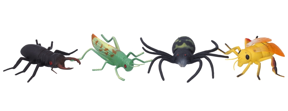 Figúrky hmyz 12cm