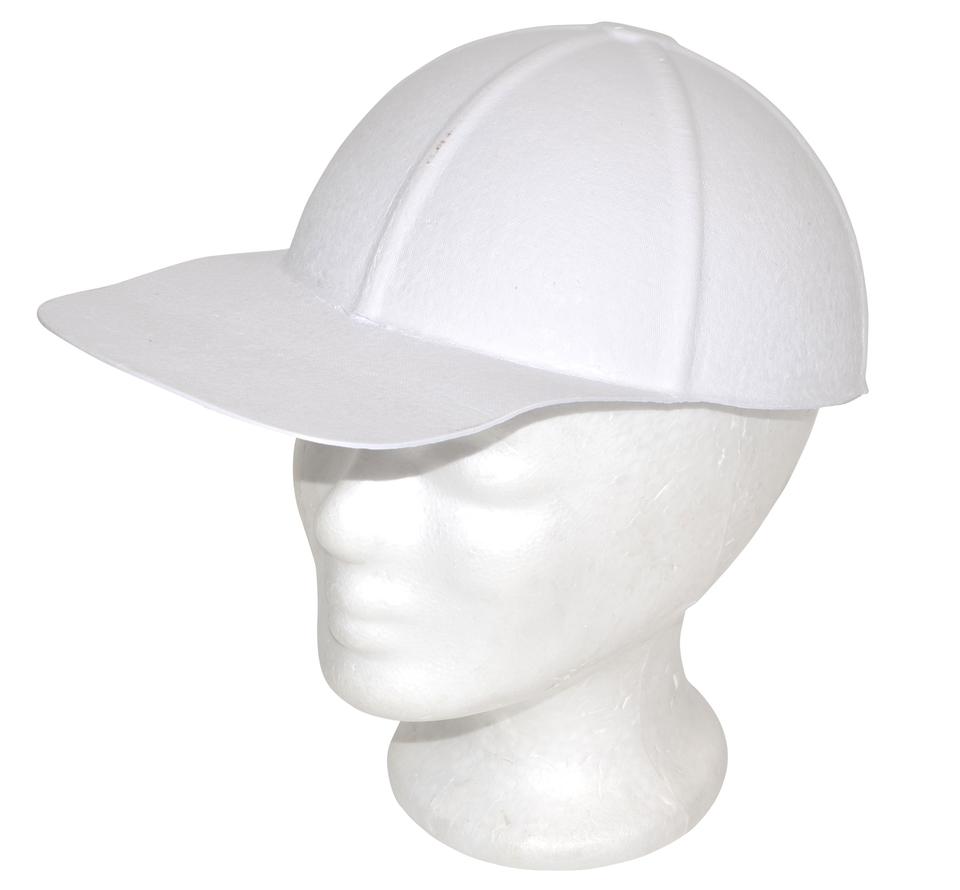 Papierová čiapka biela