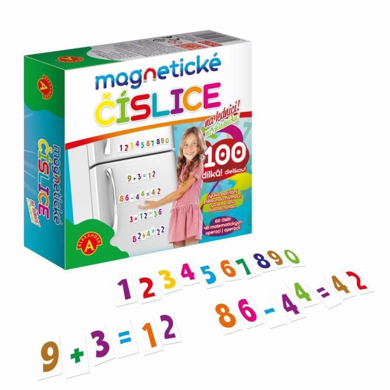 Čísla magnetické 100 ks