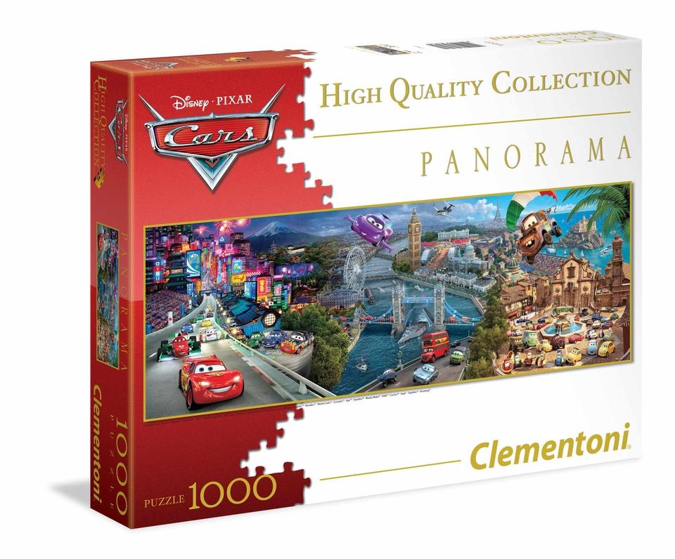Clementoni Puzzle 1000 Cars 2