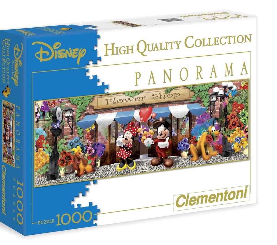 Clementoni Puzzle 1000 Minnie kvetinárstvo