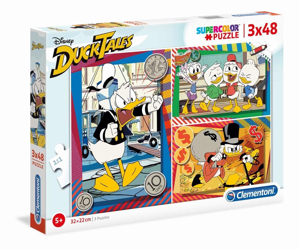 Clementoni Puzzle 3x48 Strýko Držgroš